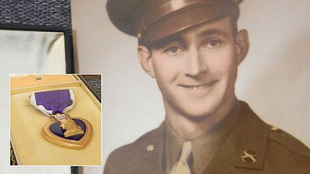 Purple Heart Found at Goodwill Returned to WWII Vet's Family
