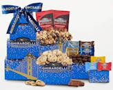 <p>We might want to keep this <span>Wine Country Gift Baskets Ghirardelli Chocolate Gift Tower</span> ($31) for ourselves.</p>