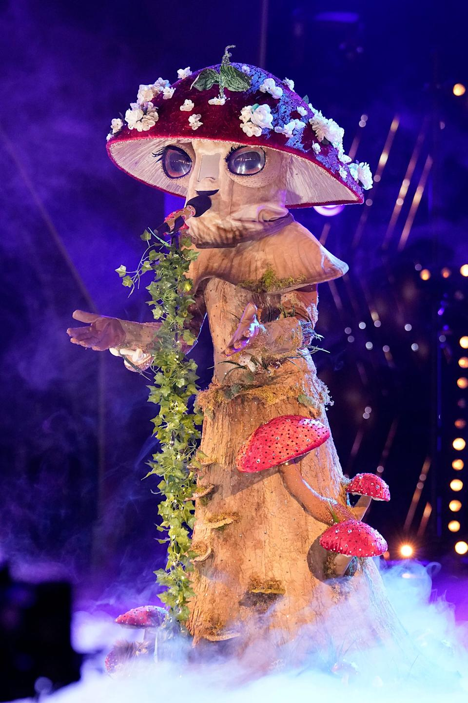 """Mushroom is looking to be loved """"Unconditionally"""" with this week's performance."""