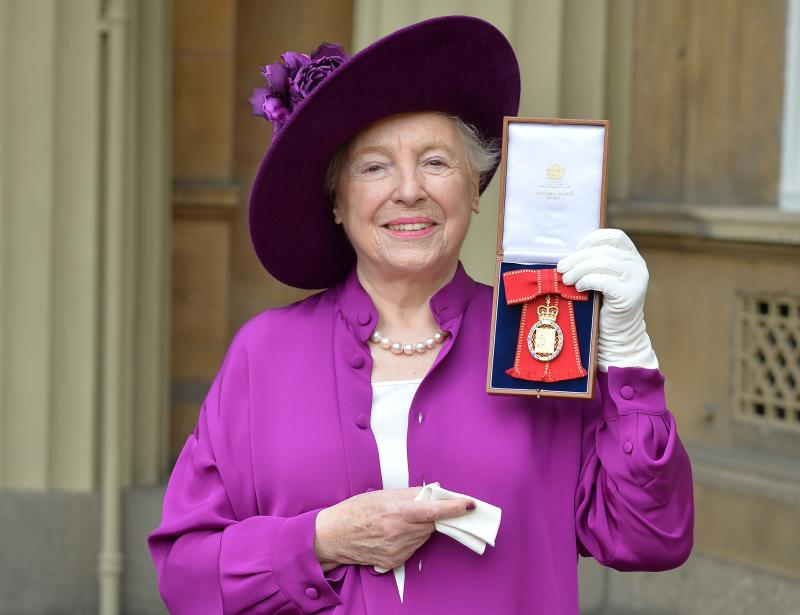 Entrepreneur and philanthropist Dame Stephanie Shirley. Photo: Getty Images
