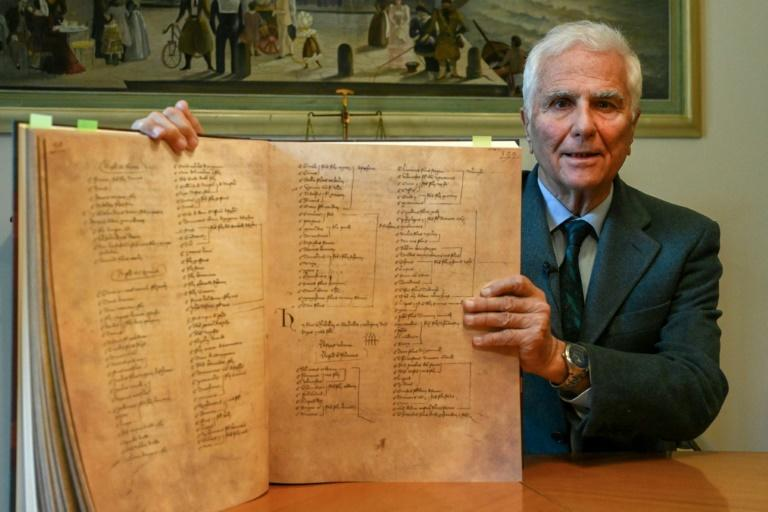 Criminal lawyer Alessandro Traversi has called a conference in May of legal experts to re-examine Dante's convictions that led to his exile (AFP/Vincenzo PINTO)
