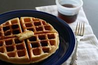 "<p>It's possible to make delicious diner-style waffles at home. The secret to fluffy, pillowy waffles is beaten egg whites gently folded into the batter followed by a drizzle of melted butter. Traditional, from scratch and absolutely decadent with some maple syrup and a cloud of whipped cream, this sweet milk homemade waffle recipe will score you a ton of <a href=""https://www.thedailymeal.com/drink/best-bottomless-brunch-gallery?referrer=yahoo&category=beauty_food&include_utm=1&utm_medium=referral&utm_source=yahoo&utm_campaign=feed"" rel=""nofollow noopener"" target=""_blank"" data-ylk=""slk:brunch"" class=""link rapid-noclick-resp"">brunch</a> points.</p> <p><a href=""https://www.thedailymeal.com/best-recipes/sweet-milk-waffles-homemade-breakfast-recipe?referrer=yahoo&category=beauty_food&include_utm=1&utm_medium=referral&utm_source=yahoo&utm_campaign=feed"" rel=""nofollow noopener"" target=""_blank"" data-ylk=""slk:For the Sweet Milk Homemade Waffles recipe, click here."" class=""link rapid-noclick-resp"">For the Sweet Milk Homemade Waffles recipe, click here.</a></p>"