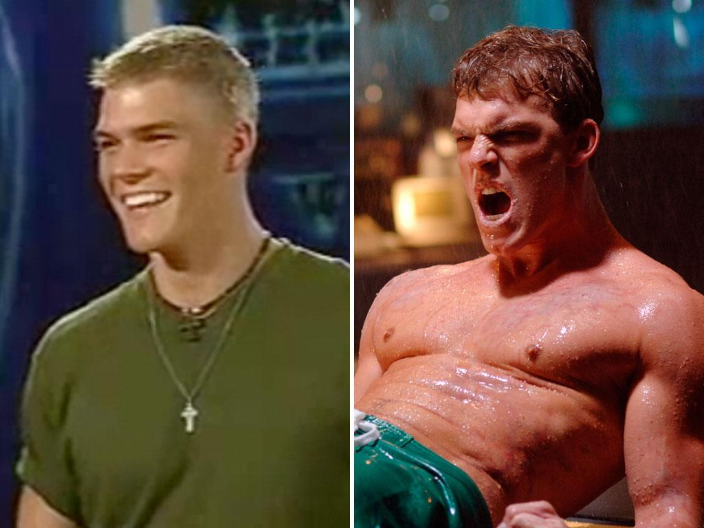 "<b>Alan Ritchson</b> was a hopeful auditioner, who stripped for then-judge Paula Abdul, on the third season of ""American Idol,"" but never even made it to Hollywood Week. Ritchson went on to star as Aquaman on The CW's ""Smallville,"" a love interest for one of ""90210's"" leading ladies, and a football player on the now-cancelled ""Blue Mountain State"" on Spike TV. You'll soon be seeing Ritchson on the big screen since he has just been cast to play Gloss on ""The Hunger Games: Catching Fire."""