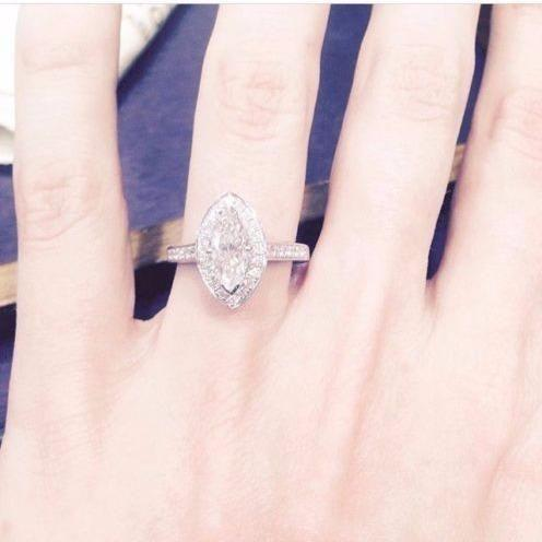 This is the ring she's trying to sell. Photo: eBay