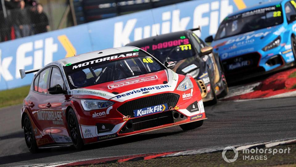 Ollie Jackson, Motorbase Performance Ford Focus at BTCC Snetterton 2020