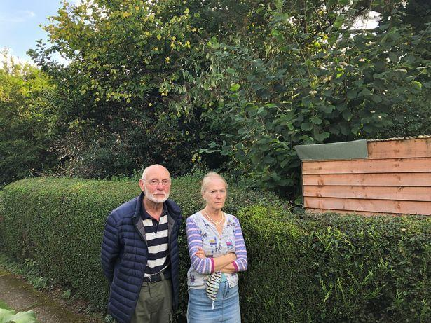 Fred Sweenie and wife Jan say the situation is making them ill. (Reach)