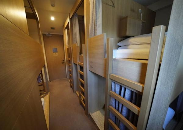 Hotel Nupka's shared dorms are clean and comfortable