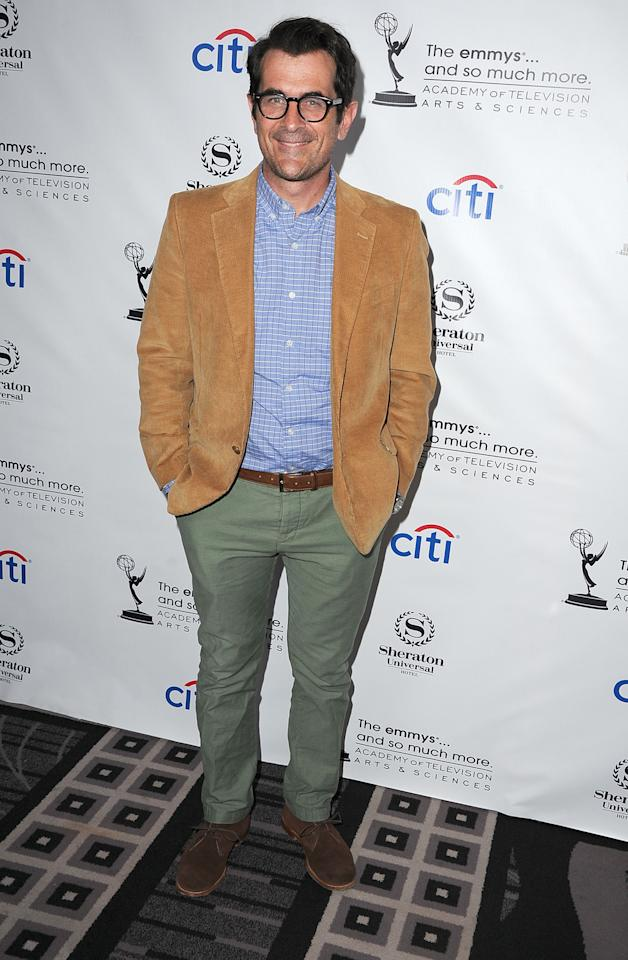 Ty Burrell arrives at the Academy Of Television Arts & Sciences' Performers Peer Group Cocktail Reception to celebrate the 65th Primetime Emmy Awards at Sheraton Universal on August 19, 2013 in Universal City, California.