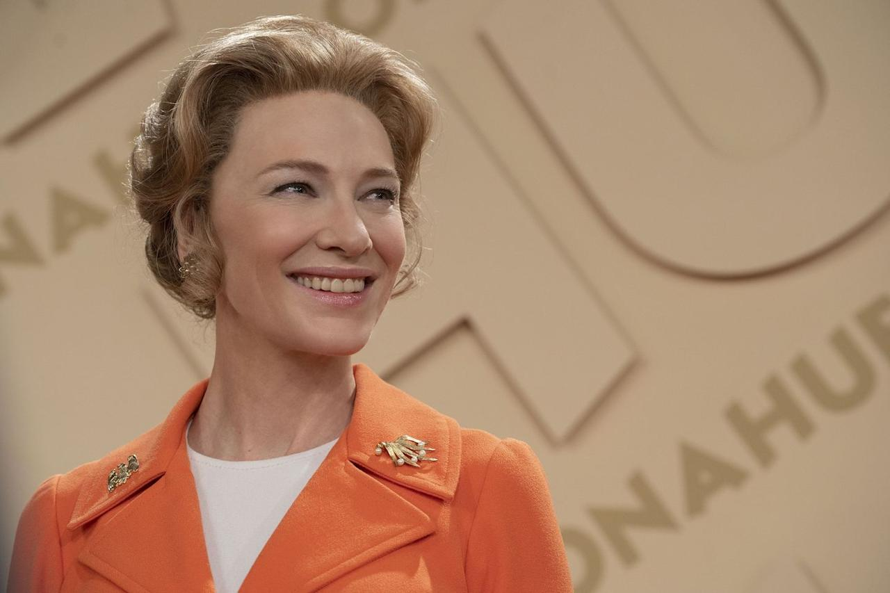 <p><strong>Where: FX</strong></p><p>A conservative Phyllis Scholarly (Cate Blanchett) unexpectedly opposes the 1970s Equal Rights Amendment–spearheaded by a group of activists, including Shirley Chisholm (Uzo Aduba, <em>Orange Is the New Black</em>), Jill Ruckelshaus (Elizabeth Banks), and Gloria Steinem (Rose Byrne).<br></p>