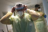 German doctors said they are treating an increasing number of young people as new variants sweep the country