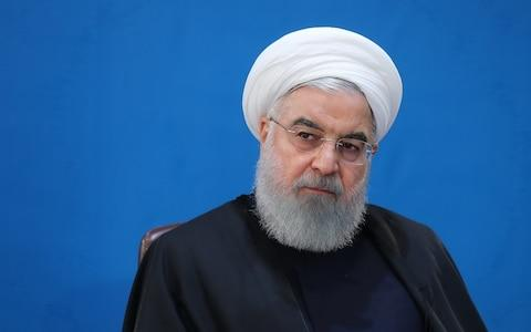 Iranian President Hassan Rouhani - Credit: Anadolu Agency/Getty Images