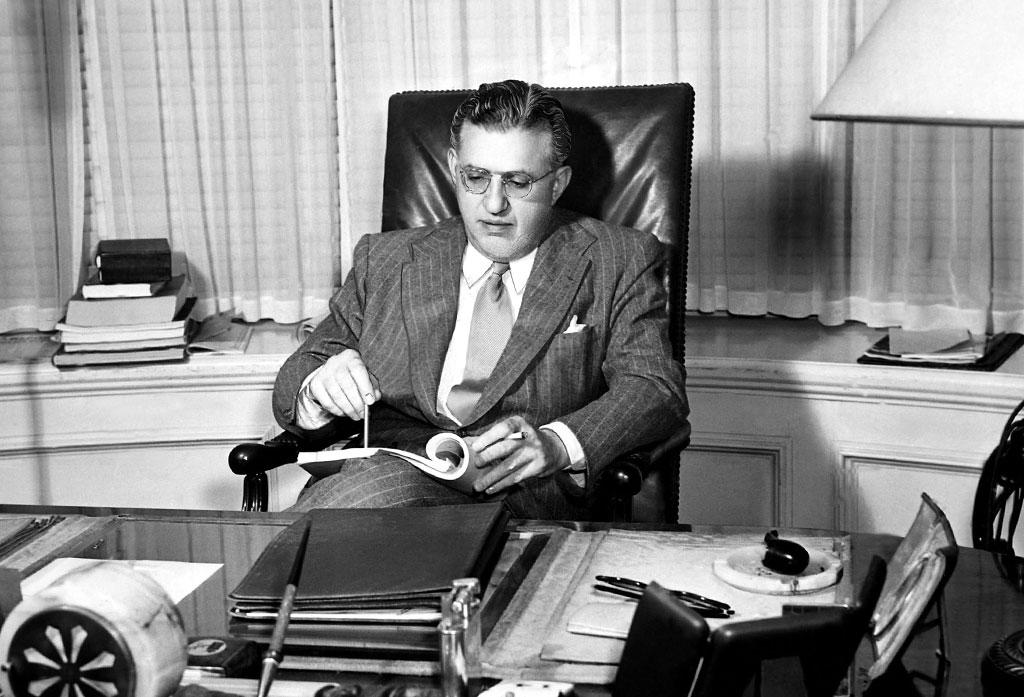 """<p><br /><strong>1933</strong> – Legendary producer David O. Selznik became the new vice president of MGM on this day. Selznik had previously worked at MGM -- where he met and married Louis B. Mayer's daughter, Irene -- but he ventured out on his own to produce at Paramount and RKO before starting his own production company. Prior to arriving back at MGM, Selznik had already procured the rights to """"Gone with the Wind"""" (1939) for an unheard of $50,000, and had agreed to let MGM distribute the Civil War epic in exchange for loaning him right to hire Clark Gable. </p>"""