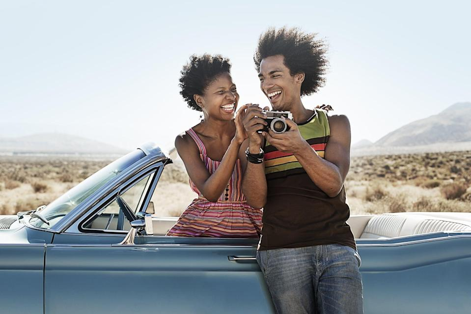 <p>If one of you (or both!) live in or near your hometown, drive around and take a tour. Drive by all of your favorite spots, places you used to go while growing up, and share stories with each other from your childhoods. This is such a fun way to learn new facts about your partner while appreciating your hometown.</p>
