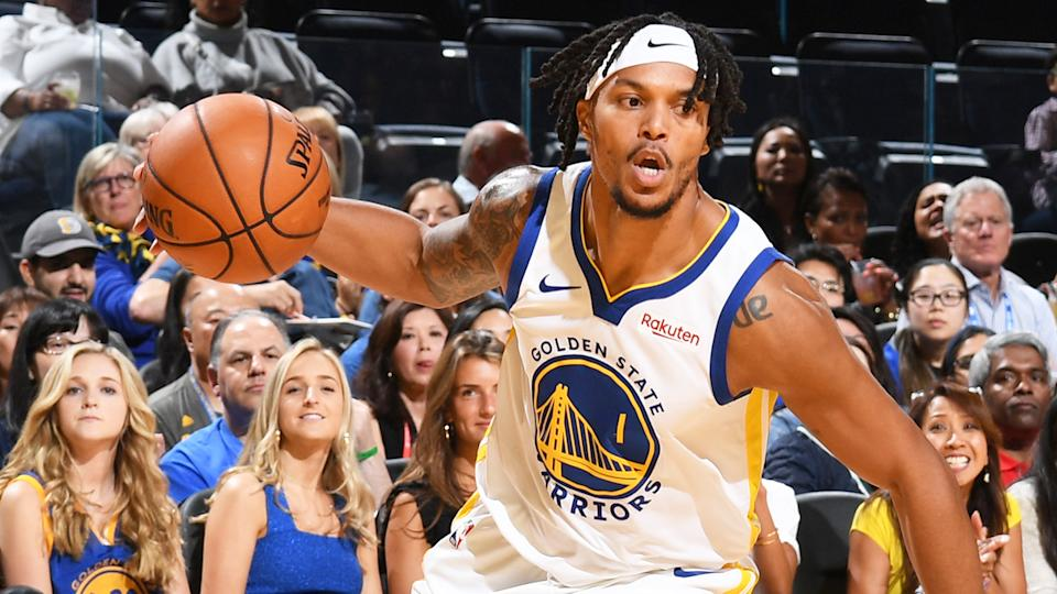 Damion Lee of the Golden State Warriors is a very unique Fantasy basketball prospect. (Photo by Noah Graham/NBAE via Getty Images)