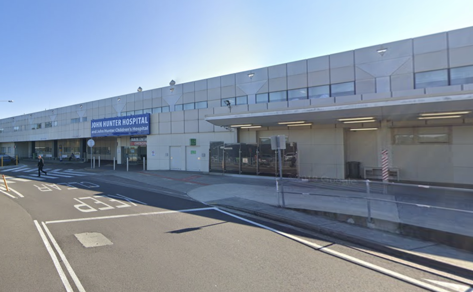 A pregnant woman is reportedly fighting for her life in John Hunter Hospital after contracting Covid. Source: Google Maps