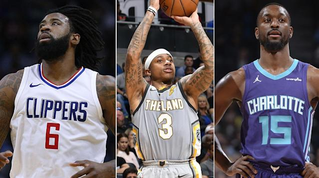 "<p>The 2018 NBA trade deadline day is finally upon us! </p><p>A number of big names have been rumored to possibly change teams, from DeAndre Jordan and Kemba Walker to Tyreke Evans and George Hill. </p><p>With a limited number of teams expected to have salary cap space this summer, the trade deadline could feature several different types of moves. Many organizations are looking to shed dollars off their cap sheets, while others are looking to retool for the postseason and/or buy low on younger players to add into development programs. </p><p>The Crossover's live blog will keep you updated on the latest news with instant analysis from our staff of writers and NBA experts. For even more rumors, <a href=""https://www.si.com/nba/2018/02/08/nba-trade-rumors-news-deandre-jordan-tyreke-evans-rodney-hood-updates"" rel=""nofollow noopener"" target=""_blank"" data-ylk=""slk:click here."" class=""link rapid-noclick-resp"">click here.</a></p><h3><strong>3:20 p.m.: Trade deadline closes: DeAndre Jordan, Kemba Walker, Tyreke Evans stay put</strong></h3><p>As the buzzer sounded at 3 p.m. ET., Thursday's trade activity came to a resounding hush during the activity's final hour. The Clippers opted to keep DeAndre Jordan, who will likely decline his player option for next season and enter free agency. In the most surprising development of the day, the Grizzlies ultimately held on to Tyreke Evans, unable to draw a first-round pick that once appeared highly like towards the end of last week. Memphis began telling teams around 2:45 ET they were keeping Evans. The Hornets remained quiet after Kemba Walker, Nic Batum and Jeremy Lamb were heavily rumored and discussed leading up to the deadline. During the final 50 minutes before the deadline, the buyout market emerged as more attractive to many teams rather than sacrificing a future pick to add reinforcements. Joe Johnson, Johnny O'Bryant, Willie Reed, Okaro White, Brice Johnson, Derrick Rose, Rashad Vaughn and Sheldon Mac are all players dealt before the deadline that could reach a buyout agreement with their new teams and hit free agency. Unmoved Players like Marco Bellineli, Kenneth Faried, Wilson Chandler, Courtney Lee and Shabazz Muhammad are also buyout candidates. Teams have until Mar. 1 to sign a bought-out player before he loses playoff eligibility. The next three weeks could ultimately play a large factor in shaping the postseason picture. </p><h3><strong>2:06 p.m.: Emmanuel Mudiay to the Knicks</strong></h3><p>The Knicks, Mavericks and Nuggets have agreed on a three-team deal that will send Emmanuel Mudiay to the Knicks, according to Adrian Wojnarowski. The deal will also land Devin Harris in Denver and Doug McDermott in Dallas. This deal makes sense for Denver, who realized Mudiay was not the point guard of the future and needed a solid backup. For McDermott, a former first-round pick of the Bulls, this could mean more opportunity on a Dallas team that is clearly rebuilding. – DeAntae Prince</p><h3><strong>1:50 p.m.: Bruno Caboclo is heading to the Kings</strong></h3><p>Finally we can take a bit of a breather and discuss a trade that doesn't involve the Cleveland facelift. Bruno Caboclo was a longtime pipe dream for Raptors fans, who saw his youth and athleticism as a major upside. Malachi Richardson, a 6'6"" guard who lit up the NCAA tournament, was in a similar situation. The Kings picked him in the first round but he rarely played. Perhaps a change of scenery will benefit both players. – DeAntae Prince</p><h3><strong>1:07 p.m.: Dwyane Wade back to Miami?!?</strong></h3><p>The Cavaliers are absolutely cleaning house. At this rate, LeBron James will have an entirely new roster when he returns to the court after the trade deadline. Dwyane Wade is yet another player the Cavaliers have shipped away. Wade, a legend with the Miami Heat, will return to South Beach, according to Adrian Wojnarowski. The Heat will send a heavily protected second-round pick to Cleveland in return. The Cavaliers, a team full of veterans at the start of the season, have made it clear that their priority is to add young wings. – DeAntae Prince</p><h3><strong>1:02 p.m.: Cavs acquire George Hill and Rodney Hood in three-team deal with Kings, Jazz</strong></h3><p>After the first gigantic move of deadline day, the Cavs added George Hill and Rodney Hood to their artillery of sharp-shooting guards and defensive wings that surround LeBron James. It's a massive deal with a lot of moving parts, adding a lot of context to why the Hill-to-Cleveland talks stalled. Cavs fans may have been annoyed about the delay, but Cleveland was certainly wise to be patient and smooth out each wrinkle of this deal. </p><p>Jae Crowder and Derrick Rose were, to put it politely, struggling mightily to perform in Cleveland. To replace those two essentially with Hill and Hood is a massive upgrade for the Cavs. It appears that Iman Shumpert will also head to the Kings, with Cleveland receiving a 2020 second-round pick (via Miami) as part of the three-team deal. Once the deal is finished, the Jazz are likely to waive Rose, <a href=""https://twitter.com/ShamsCharania/status/961671048356909056"" rel=""nofollow noopener"" target=""_blank"" data-ylk=""slk:according to Shams Charania"" class=""link rapid-noclick-resp"">according to Shams Charania</a>. He could land in Minnesota with Tom Thibodeau, who coached him in Chicago, <a href=""https://twitter.com/thesteinline/status/961673010263547904"" rel=""nofollow noopener"" target=""_blank"" data-ylk=""slk:Marc Stein reports"" class=""link rapid-noclick-resp"">Marc Stein reports</a>. – Jake Fischer</p><h3><strong>12:22 p.m.: Pistons trade Brice Johnson for James Ennis, not Dante Cunningham </strong></h3><p>After the Pistons and Pelicans were in serious talks to swap Brice Johnson and a second-round pick for Dante Cunningham, Detroit ultimately swapped that package for a younger, more versatile, and arguably more talented wing.</p><p>It's a very solid move for Detroit, a team that was desperate for greater wing depth and shooting to compliment their frontcourt tandem of Blake Griffin and Andre Drummond. Ennis is a career 36.9% three-point shooter and a long, 6-7 wing that can guard multiple positions. – Jake Fischer</p><h3><strong>12:05 p.m.: Cleveland trades Isaiah Thomas and Channing Frye for Jordan Clarkson and Larry Nance</strong></h3><p>Everyone in the league and their mother knew the Lakers were trying to get off Jordan Clarkson's contract, and were willing to attach Larry Nance as a sweetener. <span>ESPN's Adrian Wojnarowski was first to break the news.</span> The Cavs sent an interesting package to Los Angeles that includes Isaiah Thomas, whose short time with the Cavaliers was riddled with drama and losses. Veteran Channing Frye will also head to Los Angeles in the trade. </p><p>It's a deal that makes sense for both sides. Thomas has not returned to his All-Star play since recovering from offseason hip surgery and his expiring contract helps the Lakers get off money for their pursuit of 2018 free agency. The Cavs absorbing Clarkson's contract affirms their commitment to build around LeBron James for the immediate future and, for Cleveland, hopefully beyond. – Jake Fischer</p><h3><strong>11:55 a.m.: Cavs courting Kemba Walker</strong></h3><p>Due to their recent string of losses, the Cavaliers were expected to be active at the trade deadline. It doesn't seem like they'll disappoint. They're pushing to add Kemba Walker at the trade deadline, according to Adrian Wojnarowski. One thing to keep in mind: Hornets owner Michael Jordan said he wanted an All-Star back in return for Walker. Who would the Cavaliers be willing to part with? We could soon see. – DeAntae Prince</p><h3><strong>11:16 a.m.: Pistons talking Dante Cunningham </strong></h3><p>League sources told The Crossover on Wednesday night that Dante Cunningham requested a trade. Sources confirmed the talks ongoing between Detroit and New Orleans on Thursday. It is unclear if the Pelicans would keep Johnson at this time. – Jake Fischer </p><h3><strong>11:08 a.m.: Sound the Trade Alarm!!</strong></h3><p>Willie Reed, who is serving a suspension, will reportedly head to Chicago in the deal. The trade reunites Stan Van Gundy with Nelson, who coached the guard on his 2009 Orlando Magic team that made the Finals. The Pistons are putting together a squad that should challenge for a playoff spot in the East. (Detroit entered Thursday one game out.) Let the trades begin! – Rohan Nadkarni</p><h3><strong>10:45 a.m.: Booooooooo</strong></h3><p>The worst trade deadlines are the ones with no trades. The NBA is just in a weird spot right now because of the static nature of the salary cap. It looks like it's hard to move contracts, and teams are reluctant to give up first-round picks. Let's see if this is just posturing, though. – Rohan Nadkarni</p><h3><strong>10:09 a.m.: Rodney Hood is the Most Popular Kid in School</strong></h3><p>Whoa! Hood is a young player with the potential to grow into a pretty solid perimeter piece. He'll be a restricted free-agent this summer, which means he could be a little expensive to retain in the summer. Still, he would certainly be a nice pickup for numerous teams, so the interest makes sense. The Jazz still have a nice core in place, and loading up for this year's draft is their best long-term play. – Rohan Nadkarni</p><h3><strong>9:20 a.m.: Spurs, Nuggets Making Noises</strong></h3><p>This is the extremely good stuff. The Spurs are <a href=""https://twitter.com/TheSteinLine/status/961605162325499906"" rel=""nofollow noopener"" target=""_blank"" data-ylk=""slk:still in on Avery Bradley"" class=""link rapid-noclick-resp"">still in on Avery Bradley</a>, according to Marc Stein. A potential framework for the deal could send Danny Green and a first-round pick to the Clippers for Bradley. I'm not sure how I feel about that move. That seems...lateral at best? Why give up a pick in that situation? The trade only really makes sense if the Spurs are trying to clear cap space for the summer. Hm, I wonder if anyone notable is going to be a free agent? </p><p>Meanwhile, Woj says <a href=""https://twitter.com/wojespn/status/961605118289379328"" rel=""nofollow noopener"" target=""_blank"" data-ylk=""slk:the Denver Nuggets are working the phones"" class=""link rapid-noclick-resp"">the Denver Nuggets are working the phones</a> on a number of moves. Denver is in on the Tyreke Evans sweeptakes, and are also looking at trades involving Emmanuel Mudiay, Wilson Chandler and Kenneth Faried. I would love to see the Nuggets make a move. They desperately need another ball-handler off the bench, and moving Wilson Chandler would open up space in the lineup for Paul Millsap when he returns from injury. We may have some moves yet! – Rohan Nadkarni</p><h3><strong>8:52 a.m.: The Cavs Are Still Trying?</strong></h3><p>God bless the Cleveland Cavaliers, who are apparently still trying to win a title this season despite their comically inept defense. The latest scuttlebutt has the Cavs <a href=""https://twitter.com/wojespn/status/961596340122935297"" rel=""nofollow noopener"" target=""_blank"" data-ylk=""slk:trying to improve that defense with DeAndre Jordan"" class=""link rapid-noclick-resp"">trying to improve that defense with DeAndre Jordan</a>, according to Woj. The DeAndre-to-Cleveland deal has been in the trade ethers for much of the season, and if you squint, it makes sense for the Cavs. They need something—anything—to improve their defense. It won't bring them closer to the Warriors, but at least a trade would signal to LeBron that Cleveland isn't going to throw in the towel. </p><p>Elsewhere:</p><p>Things are heating up! – Rohan Nadkarni</p><h3><strong>8:25 a.m.: Paul George is staying put</strong></h3><p>There's been chatter this season that if the Thunder struggled they might look into trading Paul George before the deadline (and his summer free agency). But with OKC at 31–24 and building some positive momentum (including a recent win over the Warriors), it appears Paul George is staying put for the rest of the season. <a href=""https://www.usatoday.com/story/sports/nba/2018/02/07/thunder-gambling-paul-george-russell-westbrook-pairing/317686002/"" rel=""nofollow noopener"" target=""_blank"" data-ylk=""slk:USA Today's Sam Amick"" class=""link rapid-noclick-resp"">USA Today's Sam Amick</a> is reporting George is ""untouchable"" ahead of today's deadline. </p><p>With George clicking on offense and turning in a DPOY-worthy campaign, it makes sense for the Thunder to roll the dice on keeping George. They're unlikely to find another star as talented as PG-13 to pair with Westbrook and all signs indicate George is enjoying his time in OKC. — Matt Dollinger</p><h3><strong>6:50 a.m.: Less talk, more movement!</strong></h3><p>If you're just waking up, I hate to disappoint you, but there were no blockbuster trades while you were sleeping. Nevertheless, our good friend <a href=""https://twitter.com/wojespn"" rel=""nofollow noopener"" target=""_blank"" data-ylk=""slk:Adrian Wojnarowski at ESPN"" class=""link rapid-noclick-resp"">Adrian Wojnarowski at ESPN</a> did reveal some interesting chatter going on around the league while we were all catching some z's:</p><p><br></p><p>In addition to the Marc Gasol and Julius Randle non-news, Woj also reports that the <a href=""https://twitter.com/wojespn/status/961490619637125120"" rel=""nofollow noopener"" target=""_blank"" data-ylk=""slk:Pacers are actively looking to acquire a first-round pick"" class=""link rapid-noclick-resp"">Pacers are actively looking to acquire a first-round pick</a> in exchange for absorbing a bad contract (and sending Al Jefferson back as filler). He also tweeted that Memphis is <a href=""https://twitter.com/wojespn/status/961492463637749761"" rel=""nofollow noopener"" target=""_blank"" data-ylk=""slk:holding out for a first-round pick for Tyreke Evans,"" class=""link rapid-noclick-resp"">holding out for a first-round pick for Tyreke Evans,</a> but has come up dry so far. It seems like teams are really holding their draft picks tight this year, which could lead to a stagnant (or at least uneventful) deadline. </p><p>And in case you thought everything was fine after the Cavaliers' thrilling OT victory last night—well, you were really, really wrong. Isaiah Thomas had to tell reporters after the game that he does not want to be dealt—""I'm tired of being traded""—despite being only 15 games into his Cavaliers career.</p><p>The Crossover will keep the updates rolling all day. Be sure to check back! — Matt Dollinger</p><h3><strong>Midnight: Let the games begin</strong></h3><p>Welcome to The Crossover's trade deadline live blog! It's like Twitter, but not really! In all seriousness, deadline day can be the most exciting day of the NBA season, but it can also be the most frustrating, and it's the sheer unpredictability of the deadline that makes it so exciting. Two dominos are already off the board (do people put dominos on boards?) with Blake Griffin finding a new home in Detroit, and Lou Williams—an oft-rumored target—staying put in L.A. Here's how things stand in the first hour of Thursday:</p><p>The Spurs are <a href=""https://twitter.com/TheSteinLine/status/961454125325144064"" rel=""nofollow noopener"" target=""_blank"" data-ylk=""slk:interested in Avery Bradley"" class=""link rapid-noclick-resp"">interested in Avery Bradley</a>, reports Marc Stein. The price for Bradley is apparently a first-round pick, but the Spurs would also have to match salary in the deal—would they really give away Danny Green or Rudy Gay to acquire Bradley? I'm not quite sure how San Antonio would make this one work, but the thought of Bradley, Green and eventually Kawhi Leonard roaming the perimeter on defense sounds pretty exciting (Bradley's troubling on-off numbers notwithstanding.)</p><p>There isn't much else in terms of hot goss at midnight, but there should be many more rumors in the hours to come. If you need badly need a hit, make sure to <a href=""https://www.si.com/nba/2018/02/06/nba-trade-deadline-preview-cavaliers-clippers-deandre-jordan-lou-williams-tyreke-evans"" rel=""nofollow noopener"" target=""_blank"" data-ylk=""slk:check out Jake Fischer's trade deadline FAQ"" class=""link rapid-noclick-resp"">check out Jake Fischer's trade deadline FAQ</a>. </p><p>Happy trading! — Rohan Nadkarni</p><h3>Completed Trades </h3><p>Entering Thursday, we've already had a flurry of activity surrounding the trade deadline. In case you've forgotten: </p><p>• <a href=""https://www.si.com/nba/2018/01/31/blake-griffin-trade-pistons-clippers-stan-van-gundy-doc-rivers"" rel=""nofollow noopener"" target=""_blank"" data-ylk=""slk:The Clippers traded Blake Griffin to the Detroit Pistons"" class=""link rapid-noclick-resp"">The Clippers traded Blake Griffin to the Detroit Pistons</a></p><p>•? <a href=""https://www.si.com/nba/2018/02/01/nikola-mirotic-pelicans-bulls-trade-grades-omer-asik"" rel=""nofollow noopener"" target=""_blank"" data-ylk=""slk:The Pelicans acquired Nikola Mirotic from the Bulls"" class=""link rapid-noclick-resp"">The Pelicans acquired Nikola Mirotic from the Bulls</a></p><p>• <a href=""https://www.si.com/nba/2018/02/07/lou-williams-clippers-trade-contract-extension"" rel=""nofollow noopener"" target=""_blank"" data-ylk=""slk:The Clippers opted to extend Lou Williams' contract rather than trade the high-scoring guard"" class=""link rapid-noclick-resp"">The Clippers opted to extend Lou Williams' contract rather than trade the high-scoring guard</a></p><p>•? <a href=""https://www.si.com/nba/2018/02/05/bucks-nets-tyler-zeller-rashad-vaughn-trade"" rel=""nofollow noopener"" target=""_blank"" data-ylk=""slk:The Nets traded Tyler Zeller to the Bucks for Rashad Vaughn"" class=""link rapid-noclick-resp"">The Nets traded Tyler Zeller to the Bucks for Rashad Vaughn</a></p><p>•? <a href=""https://www.si.com/nba/video/2018/02/07/willy-hernangomez-trade-knicks-hornets"" rel=""nofollow noopener"" target=""_blank"" data-ylk=""slk:The Knicks traded Willy Hernangomez to the Charlotte Hornets"" class=""link rapid-noclick-resp"">The Knicks traded Willy Hernangomez to the Charlotte Hornets</a></p>"