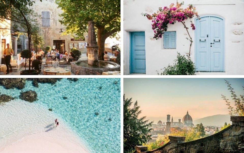 Provence, Paros, Maldives, Florence - Getty