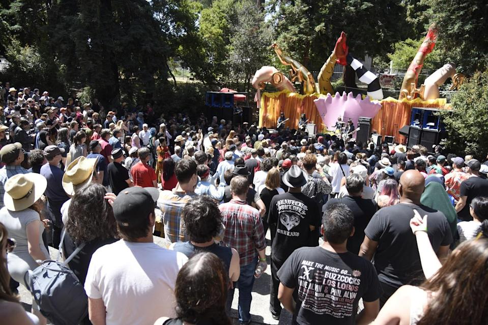 The Burger Boogaloo music festival in Oakland's Mosswood Park, July 1, 2017.