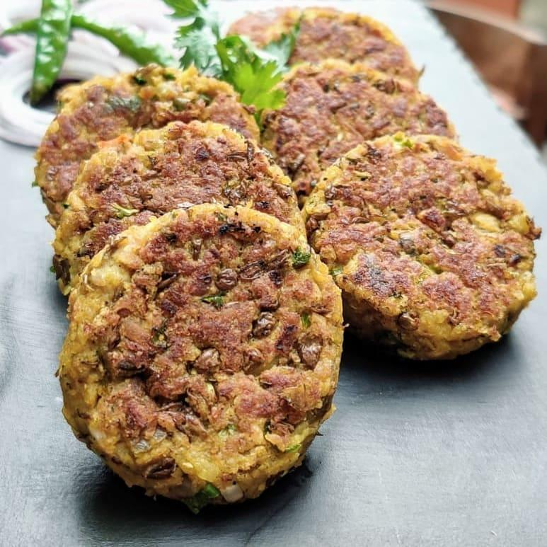 Soya Granules and Masoor Dal Kebabs: Courtesy Chef Nitin Mathur, Executive Chef, Taj Santacruz, Mumbai: