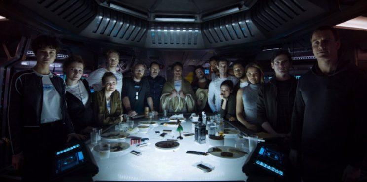 Alien: Covenant Cast katherine waterson danny mcbride james franco billy crudup carmen ejogo demian bichir michael fassbender