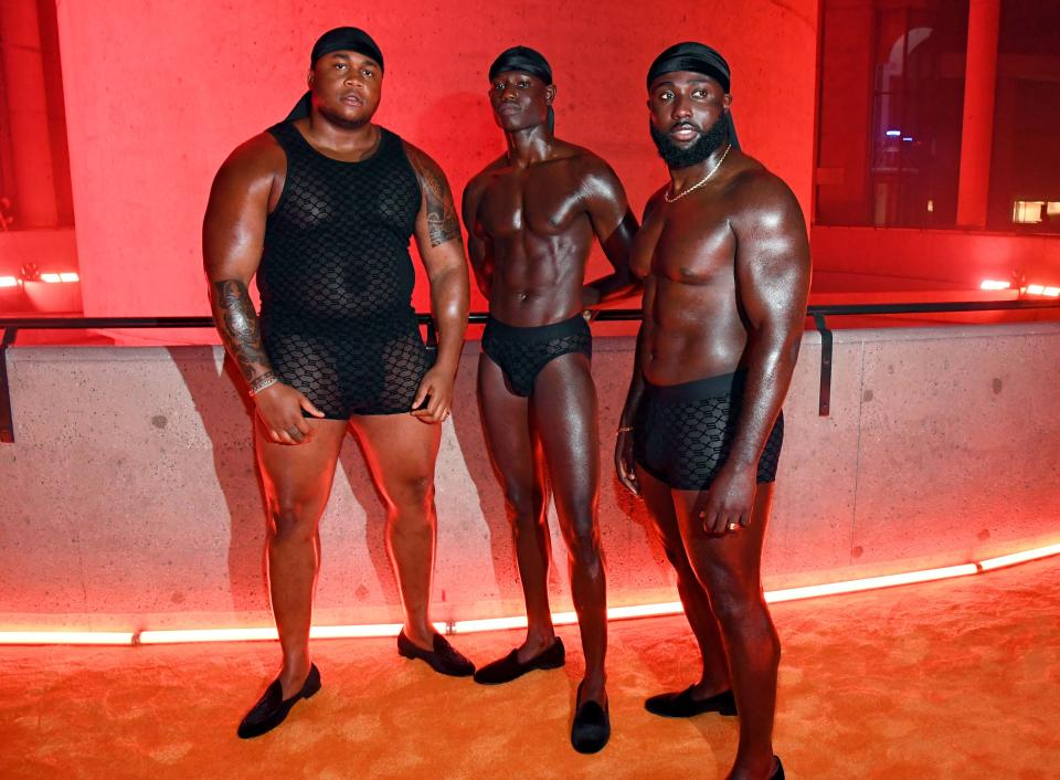 Rihanna's Savage X Fenty Vol. 3 shows the importance of size inclusivity for men. (Getty Images)
