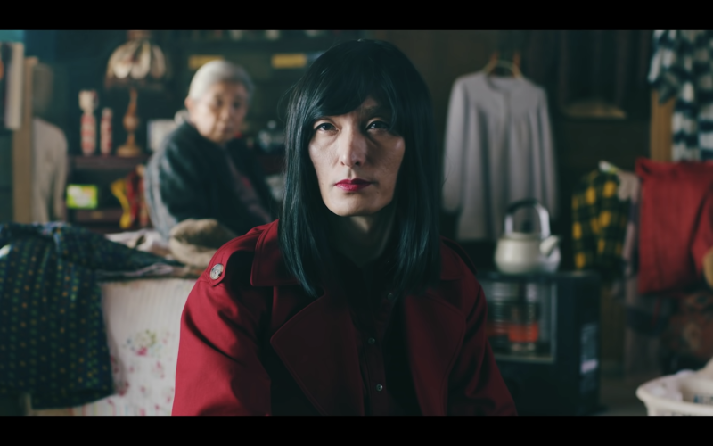 Tsuyoshi Kusanagi in Japanese film Midnight Swan. The former SMAP singer plays a transgender woman.