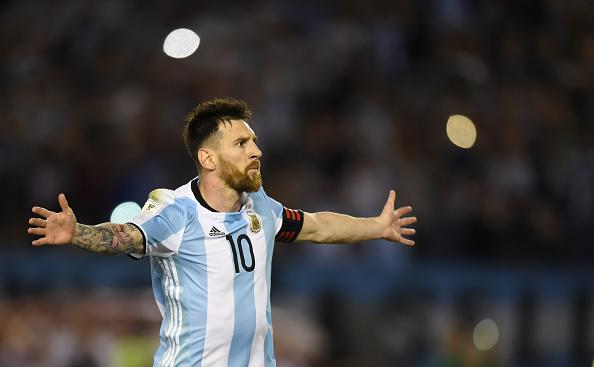 Lionel Messi Argentina Chile Eliminatorias 23032017
