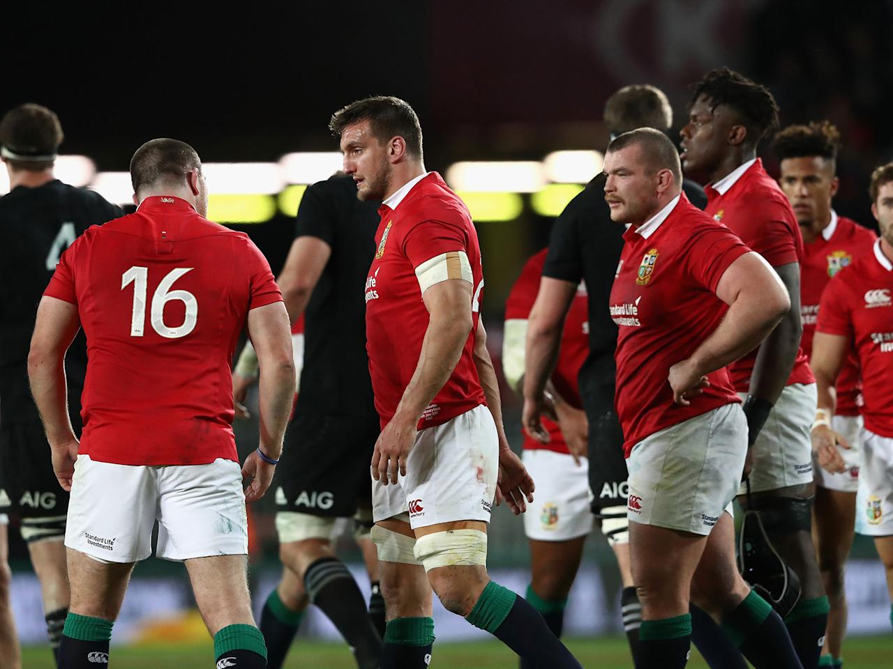 British and Irish Lions video diary: All Blacks power past tourists in first Test