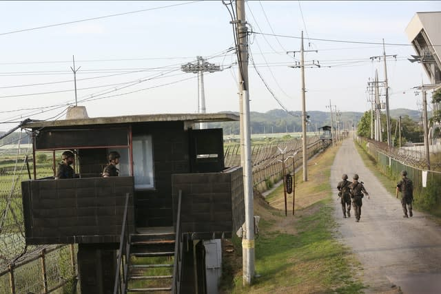 North Korea 'blows up liaison office' with the South as tensions rise