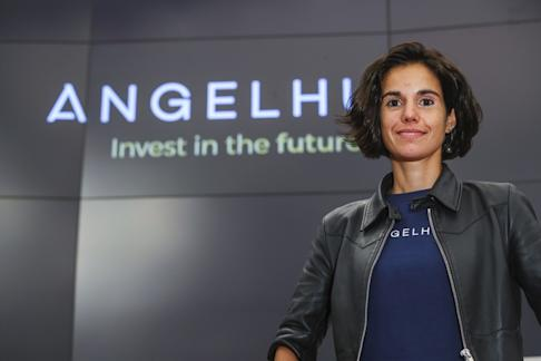Karen Contet Farzam, Founder & Chief Executive Officer of Angelhub, a startup investment platform on 29 October 2018. SCMP: Edmond So