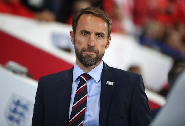 Southgate was unimpressed after England's first half showing