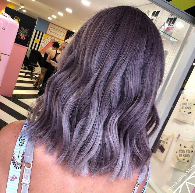 """<p>This ashy, ombre colour is a great option for those who don't have the time, or money, for regular root touch-ups.</p><p><a href=""""https://www.instagram.com/p/B130J_wAcZG/"""" rel=""""nofollow noopener"""" target=""""_blank"""" data-ylk=""""slk:See the original post on Instagram"""" class=""""link rapid-noclick-resp"""">See the original post on Instagram</a></p>"""