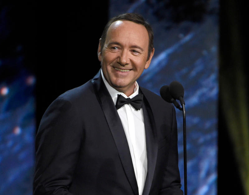 Italy Kevin Spacey