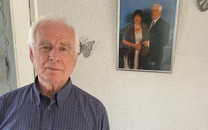 John Shields, 78, said his wife broke her hip in hospital after taking herself to the toilet when no one responded to her buzzer calls