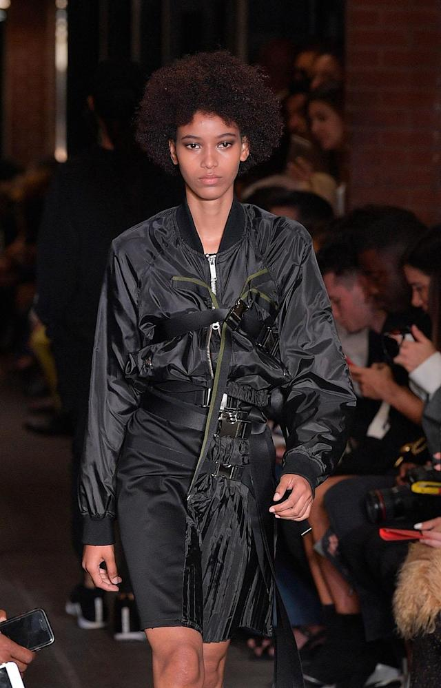 <p>A play on texture that's edgy and amazing. (Photo: Getty Images) </p>