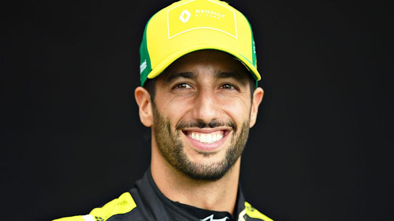 Pictured here, Daniel Ricciardo is leaving Renault after the 2020 season.