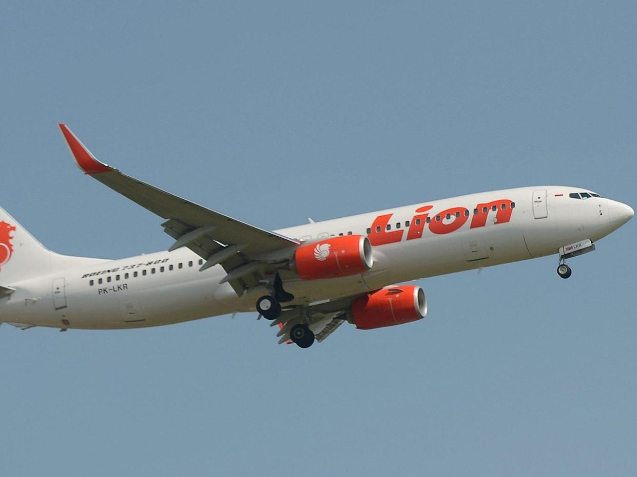 Lion Air flight JT610 lost contact with ground officials 13 minutes after takeoff from Jakarta airport: ADEK BERRY/AFP/Getty Images