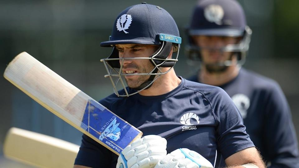 Kyle Coetzer of Scotland (Photo by Philip Brown/Getty Images)