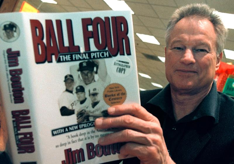 Jim Bouton, former pitcher,