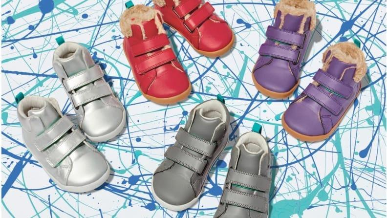Ten Little shoes were developed with the help of a pediatrician and a podiatrist.