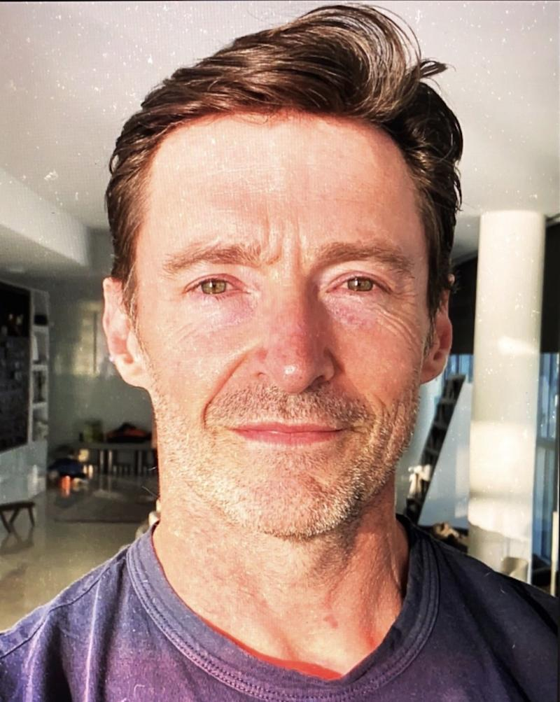 "Actor Hugh Jackman from the TV movie ""Bad Education"""