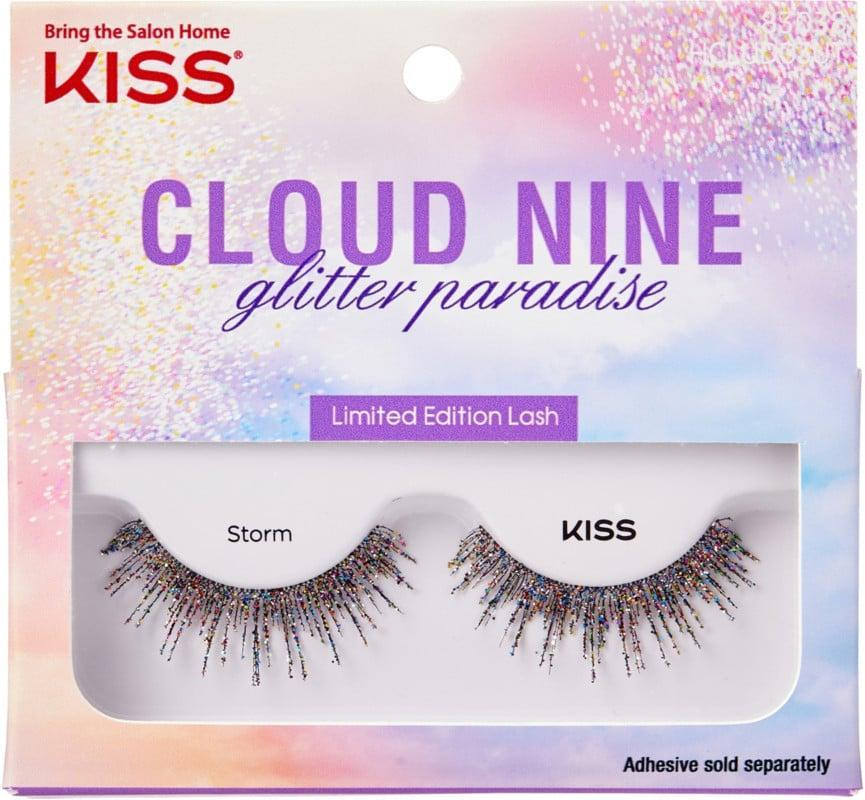 <p>The holidays are the perfect time to bust out the <span>Kiss Limited Edition Cloud Nine Glitter Paradise Storm Lashes</span> ($5). They'll make their eyes pop like no other. </p>