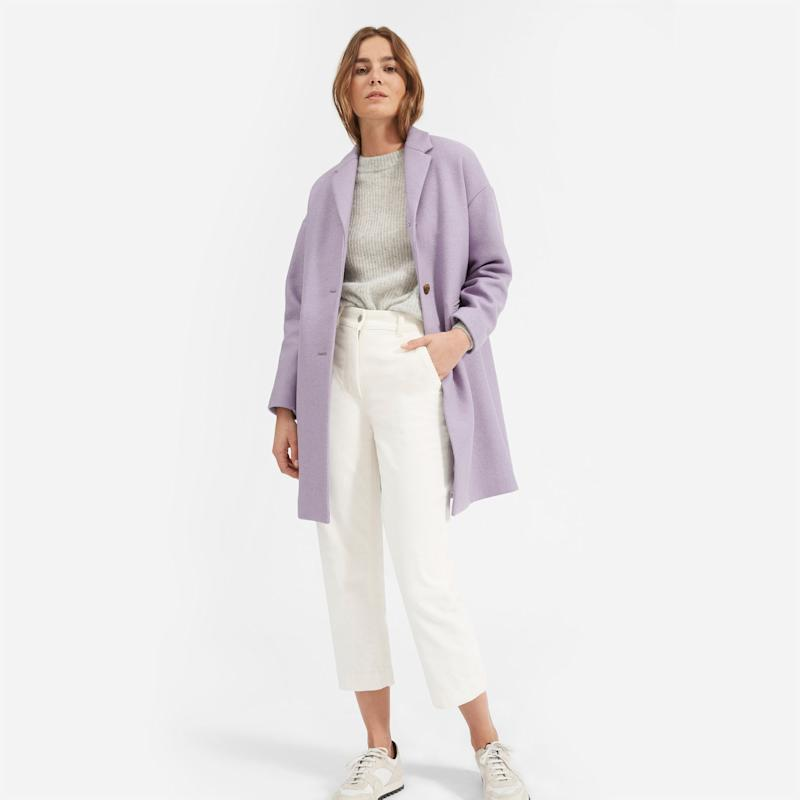 This coat was made for standing out. (Photo: Everlane)