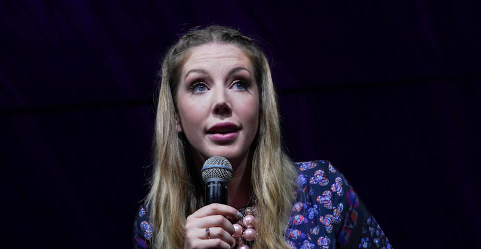 Katherine Ryan returns as the co-judge of Comedy Central's Roast Battle (PA Images)