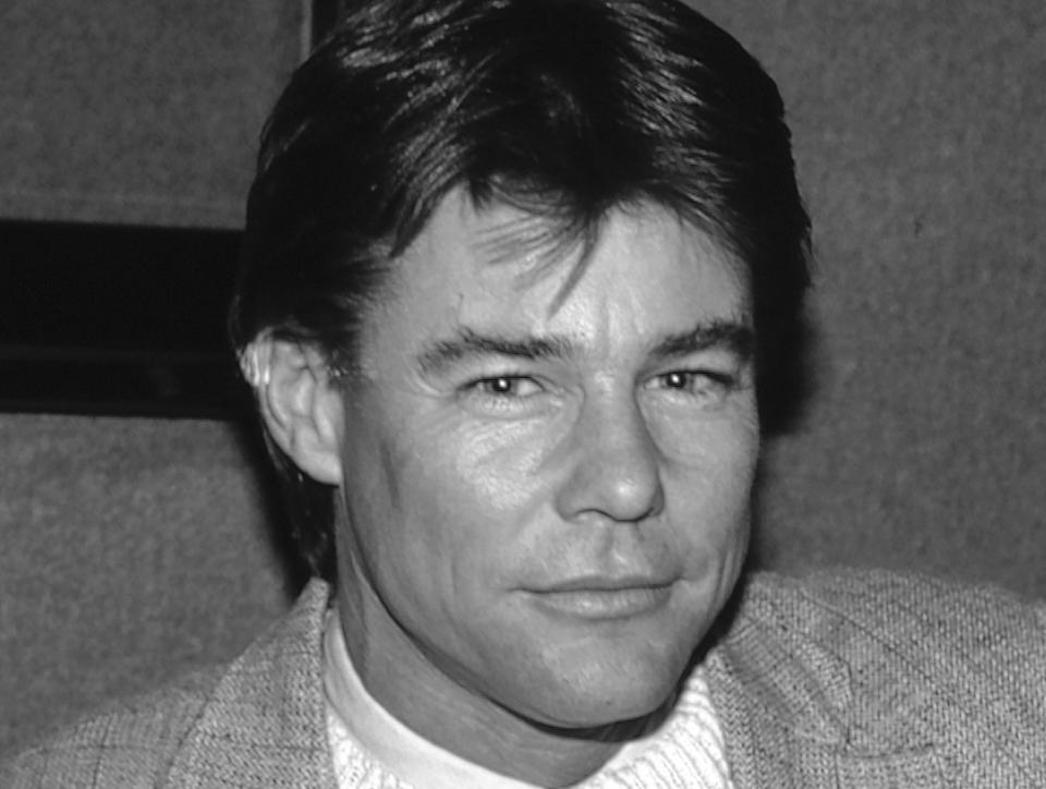 """Actor Jan-Michael Vincent, who starred on the big screen in the 1970s and in the hit TV series """"Airwolf"""" in the 1980s, died on Feb. 10, 2019."""