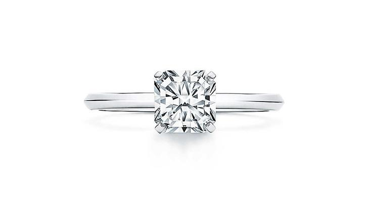6be232bc3 Tiffany & Co. Released a New Engagement Ring Cut, and We're All Like,  'Hint, Hint'