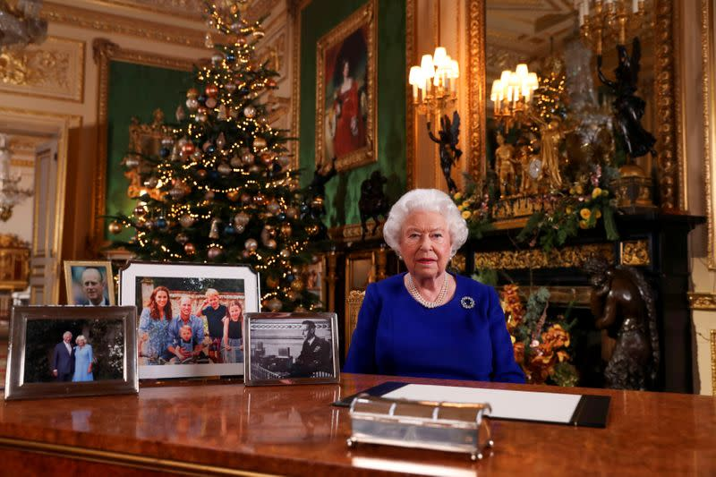 Britain's Queen struck by youth climate activism