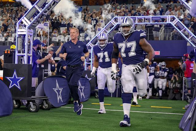 Head coach Jason Garrett is 70-58 in the regular season and 1-2 in the playoffs during his nine seasons with the Cowboys. (Getty Images)