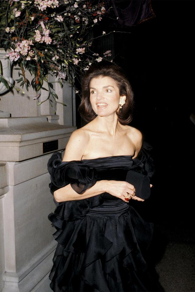 <p>Wearing Valentino at the Diaghilev: Costumes and Designs of the Ballets Russes Gala.</p>