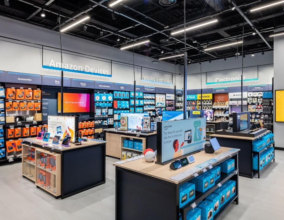 Amazon opens first non-food retail store in the UK